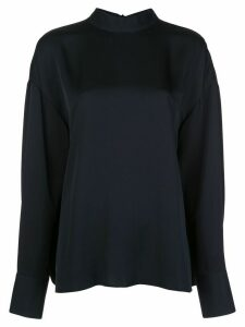 Jason Wu long sleeve tie-fastened blouse - Black
