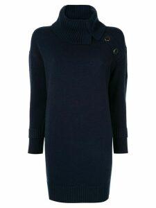Paule Ka loose fit knit dress - Blue