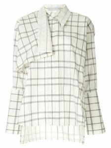 Palmer//Harding long-sleeved Altered shirt - NEUTRALS
