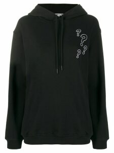 McQ Alexander McQueen Buzzed hooded sweatshirt - Black