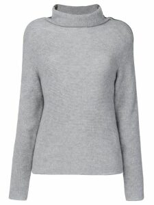 Jo No Fui tubular neck sweater - Grey