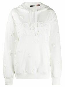Dolce & Gabbana logo hoodie - White