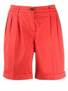 Fay tailored shorts - ORANGE