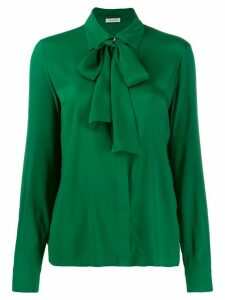 P.A.R.O.S.H. pussy bow blouse - Green