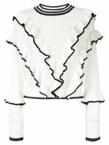 Suboo Angel knit jumper - White