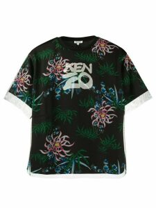 Kenzo Sea Lily T-shirt - Black