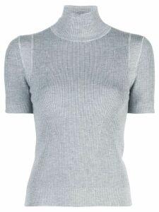 Jason Wu ribbed knit top - Grey