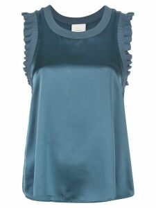 Cinq A Sept sleeveless flared top - Grey