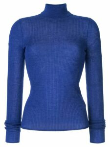 CK Calvin Klein turtle neck jumper - Blue