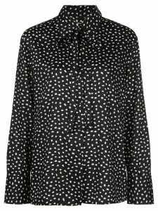 Jason Wu polka-dot print shirt - Black