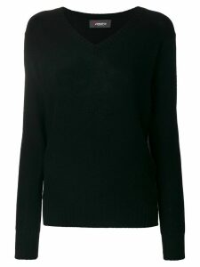 Jo No Fui V-neck pullover - Black