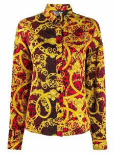 Versace Jeans Couture baroque leopard-print shirt - Red