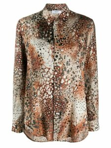 Roseanna Atelier animal print shirt - NEUTRALS