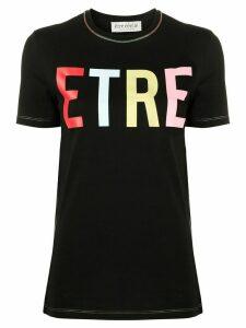 Être Cécile short sleeve Etre logo T-shirt - Black