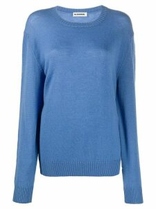 Jil Sander loose-fit wool jumper - Blue
