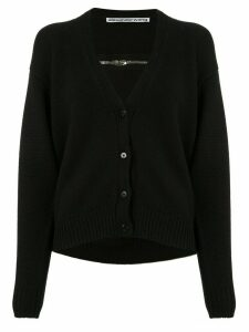 Alexander Wang v-neck knitted cardigan - Black