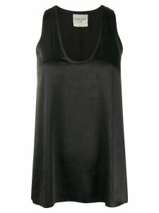 Forte Forte flared tank top - Black