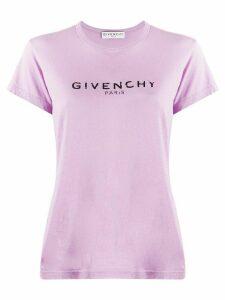 Givenchy printed logo T-shirt - PINK