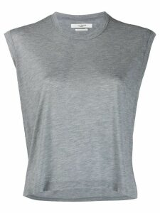 Isabel Marant Étoile plain loose-fit T-shirt - Grey
