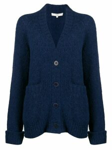 Tibi Cozette oversized cardigan - Blue