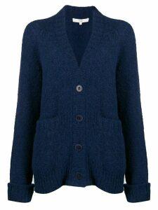 Tibi Cozette oversized cardigan - Blue