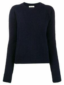 Masscob crew neck fitted jumper - Blue