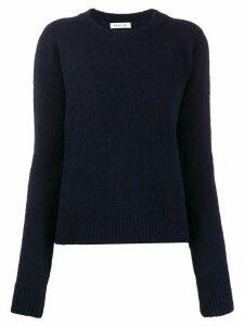 Masscob crew neck fitted jumper - Blue