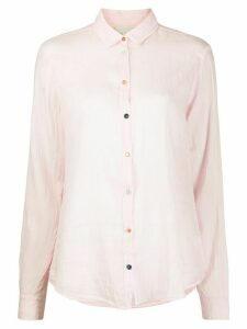 Forte Forte long-sleeve fitted shirt - PINK