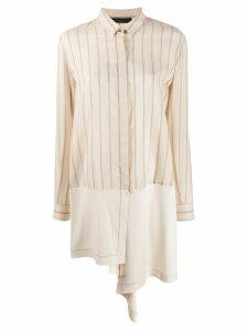 Fabiana Filippi striped print shirt - NEUTRALS