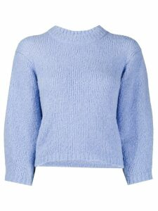 Tibi Cozette cropped jumper - Blue