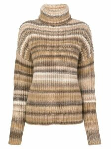 Altuzarra Kelley striped jumper - Brown