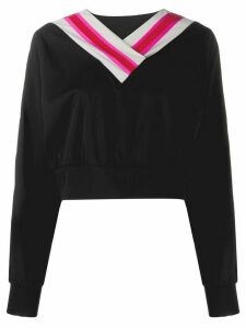 No Ka' Oi cropped sweatshirt - Black