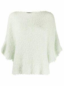 Fabiana Filippi textured knit top - Green