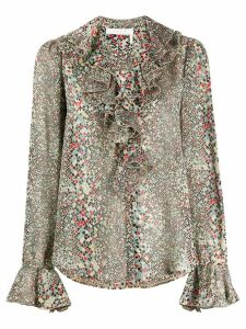 See By Chloé speckle print blouse - NEUTRALS