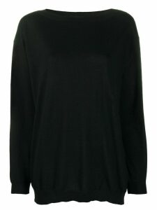 P.A.R.O.S.H. Wonder oversized cashmere jumper - Black