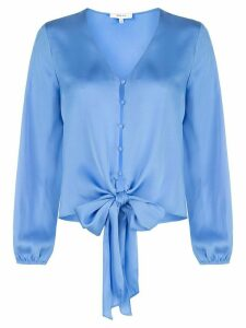 Milly tie waist blouse - Blue