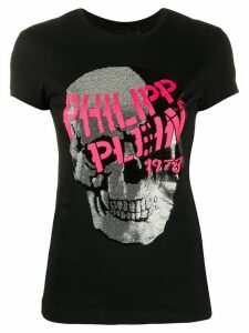 Philipp Plein SS skull-print T-shirt - Black