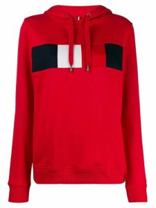 Tommy Hilfiger colour block hoodie - Red