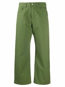 P.A.R.O.S.H. high rise cropped jeans - Green