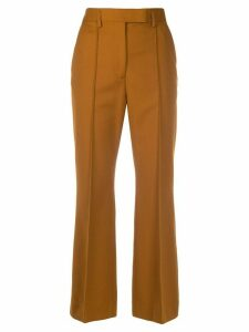 Acne Studios slim piped trousers - Brown