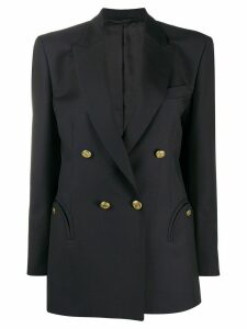 Blazé Milano oversized double-breasted blazer - Blue