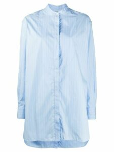 Rokh long line shirt - Blue