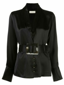 Nicholas Shara belted blouse - Black