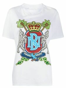 Neil Barrett emblem print T-shirt - White