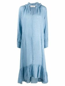Masscob crinkled kaftan dress - Blue