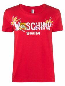 Moschino Toy Bear print T-shirt - Red