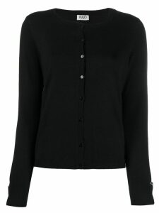 LIU JO cuff detail cardigan - Black