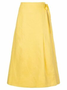 Nicholas wrap around skirt - Yellow
