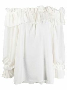 P.A.R.O.S.H. off the shoulder blouse - White