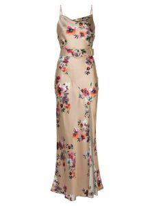 Nicholas Simone floral dress - NEUTRALS